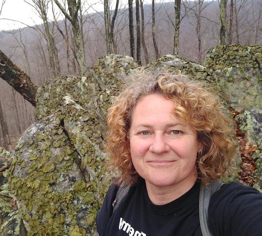 Kate Shunney on Warm Springs Ridge